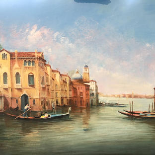 Going to the Gran Canal - Venice