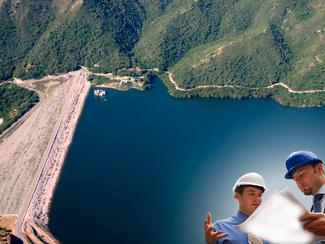 Elaboração de projetos e supervisão da construção da Barragem Punta Caña