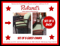 Guest Chairs $400