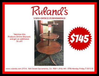 3 Tier Coffee Table $145