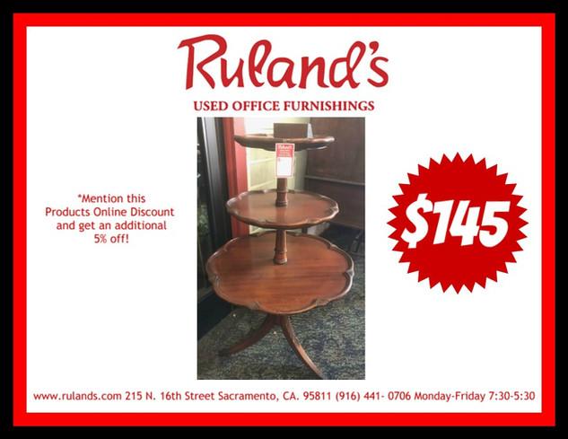 3 Tier Coffee Table $145