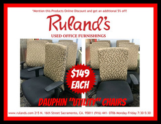 Dauphin Utility Chairs $149