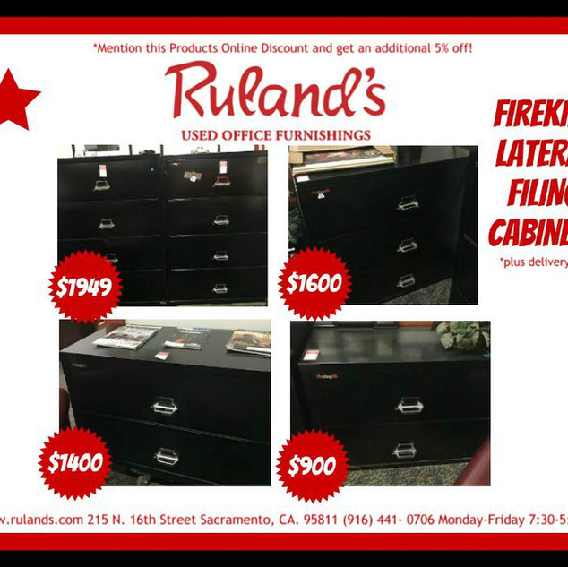 FireKing Filing Cabinets