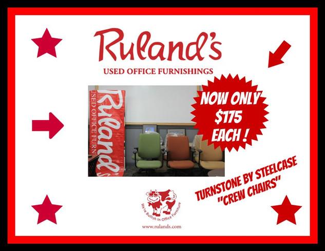 Turnstone Crew Chairs $175