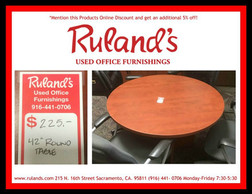 "42"" Round Table $225"