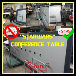 Unique Conference Table $495