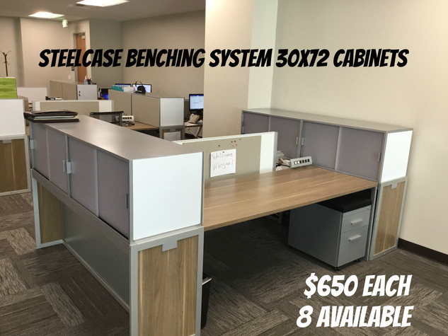 Steelcase Benching System $650