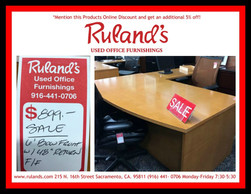 6' Bow Front Desk $899