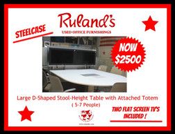 "Steelcase ""Tech"" Table $2500"