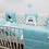Thumbnail: סט TINIES למיטת תינוק/טורקיז