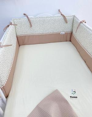 מגן ראש למיטת תינוק - Provence