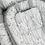 Thumbnail: בייבי נסט - עלים אפורים/פיקה אפור