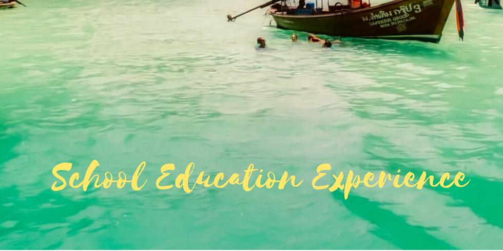 School Education Experience: Chiang Mai, Thailand