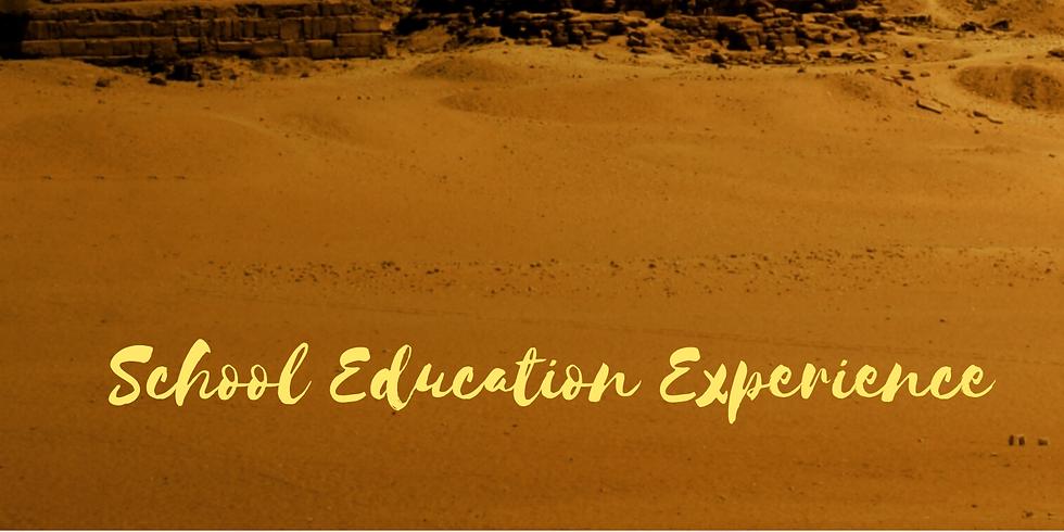School Education Experience: Cairo, Egypt