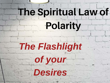The Spiritual Law of Polarity - Polar Flip and Ignite Your Flashlight of Desires