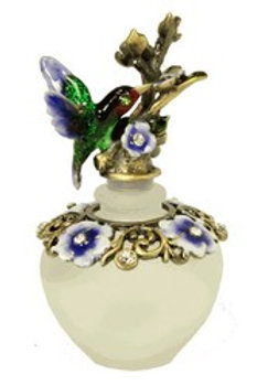 Hummingbird Flower Welforth Perfume Bottle