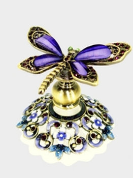Deep Purple Dragonfly Wonder Welforth Perfume Bottle