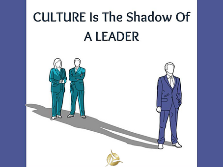 Leadership drives workplace culture