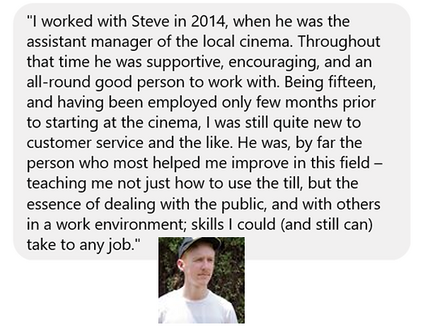 Testimonial from a teen for I Am Enough Coaching