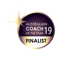 Coach of the Year Finalist 2019 Badge -