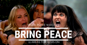 Bring peace to the workplace by focusing on these 11 elements