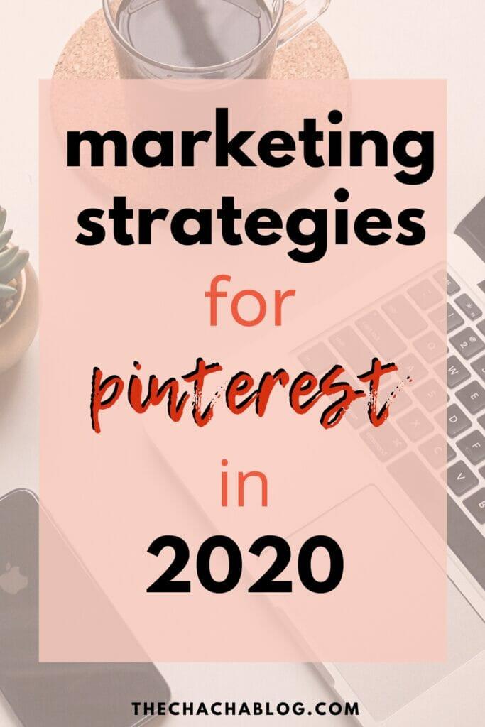 pinterest strategies 2020
