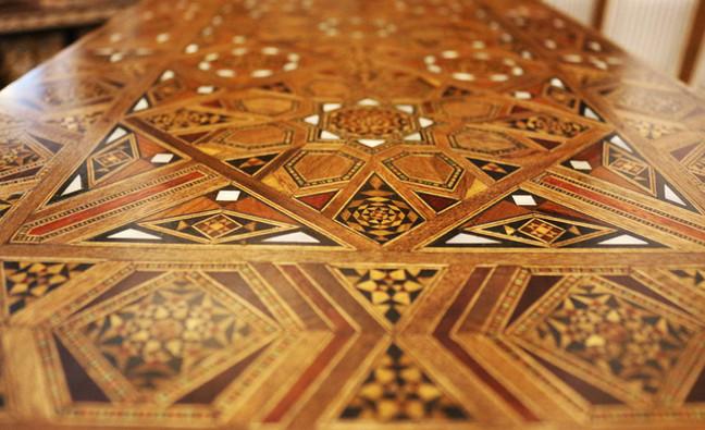 Holz Backgammon/Schach/Karten Spiel  Klappbar Tisch 8