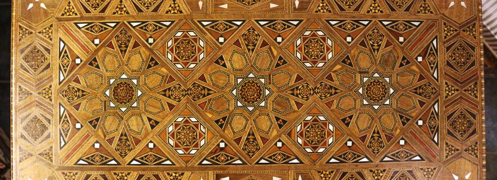 Holz Backgammon/Schach/Karten Spiel  Klappbar Tisch 5