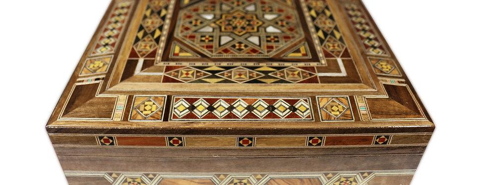 Holz Mosaik Schatulle K 22-25