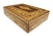 Damaskunst handmade Holz Schatulle/wooden Box