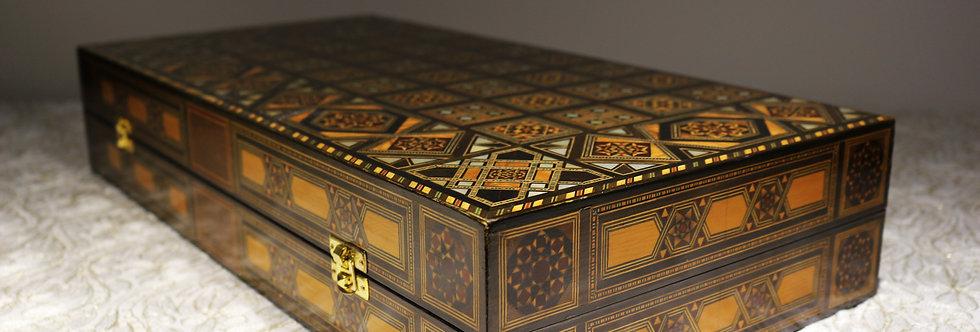 Holz Backgammon Brett