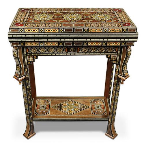 Holz Backgammon/Schach Spieltisch  M60
