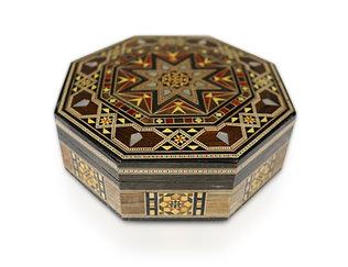 Holz Mosaik Schatulle K 1-2-84