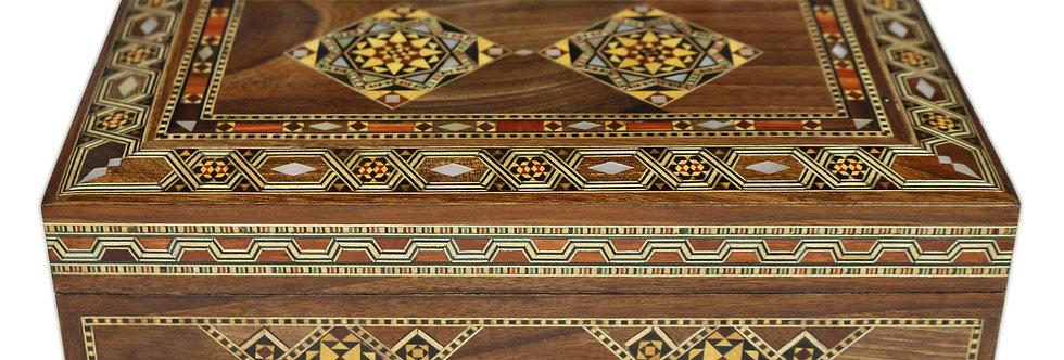 Holz Mosaik Schatulle K29181