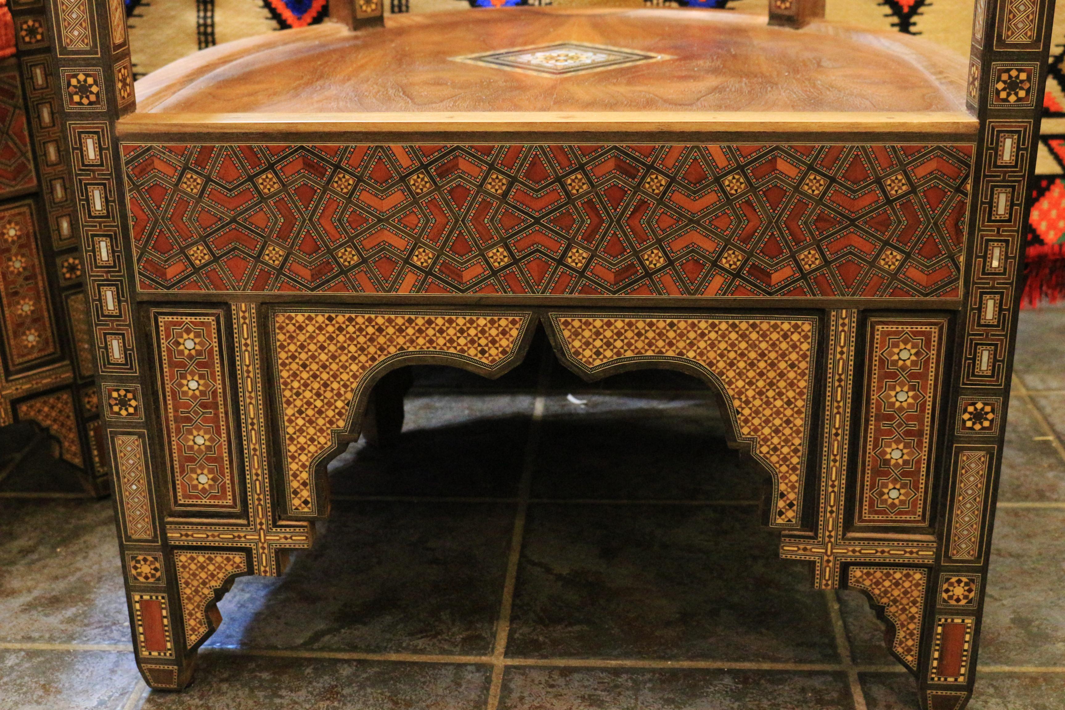 Syrische Masaik Sessel 8