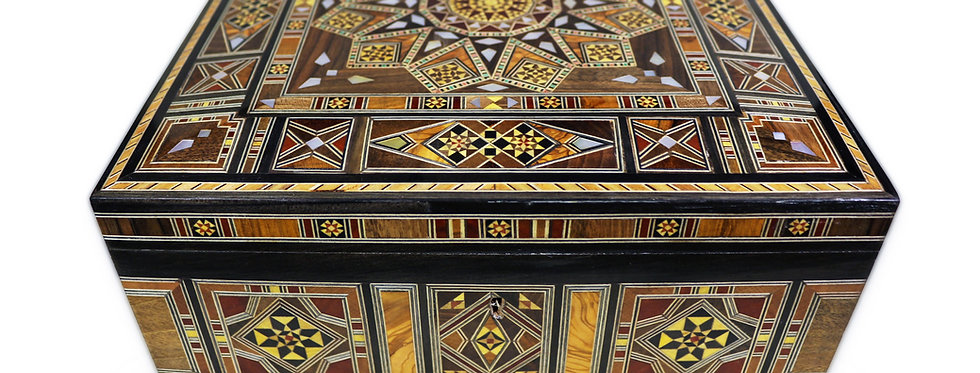 Holz Mosaik Schatulle K 11-28