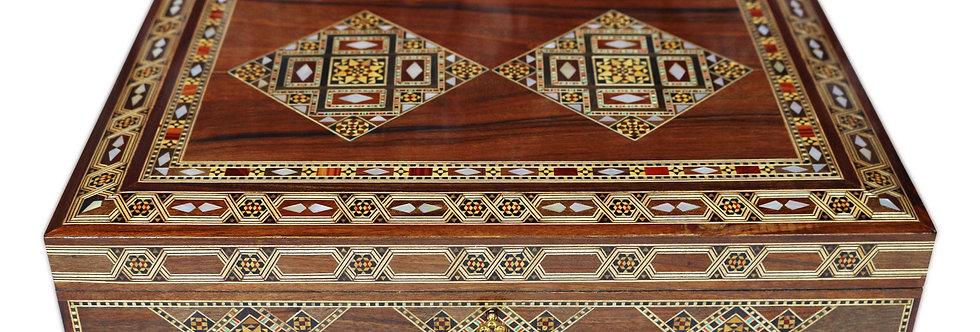 Holz Mosaik Schatulle K40301