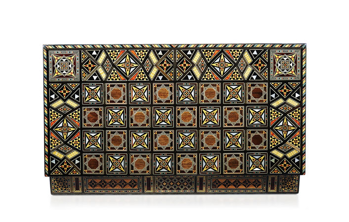 Damaskunst Backgammon