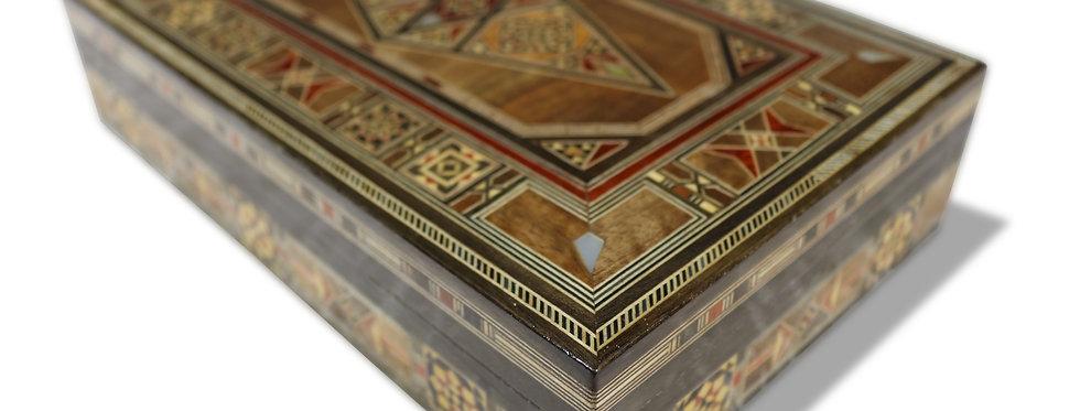 Holz Mosaik Schatulle