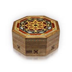 Holz Mosaik  Box K 1-1-81