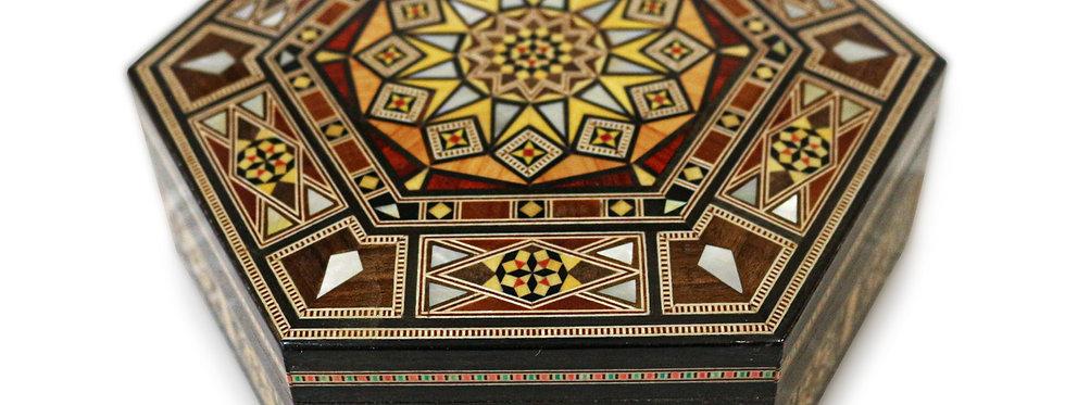 Holz Mosaik Schatulle K 16-19