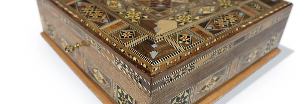 Holz Mosaik Schatulle K301