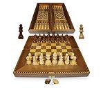 Damaskunst Bakgammon und Schach spiel.jp