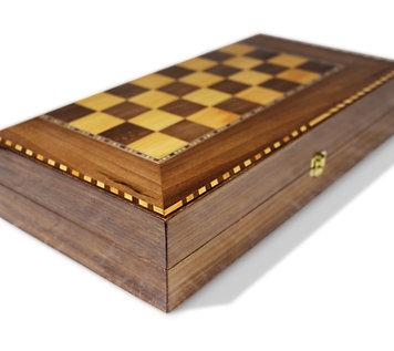 Holz Backgammon Brett BK409