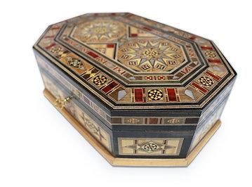 Holz Mosaik Schatulle K30206