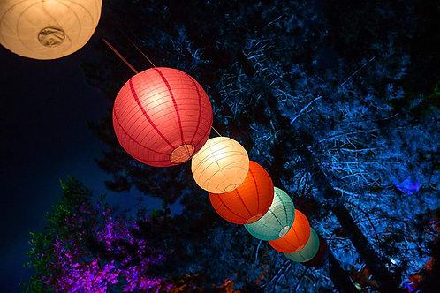 Solar-Partylichterkette 30 Lampions