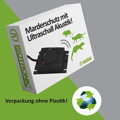 Marder und Mausfrei Autobatterie 12V ; 12-23khz