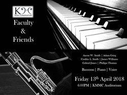 Faculty & Friends - KMMC Recital