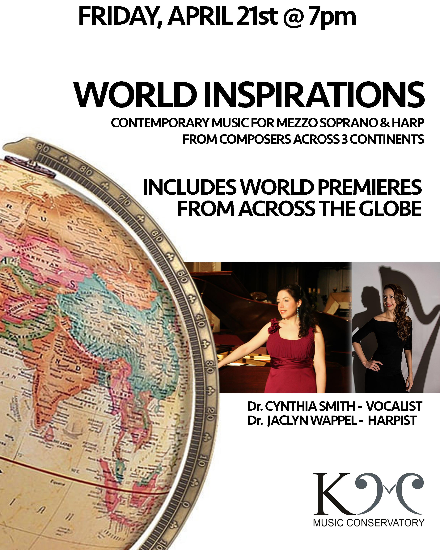 World Inspirations - Voice & Harp