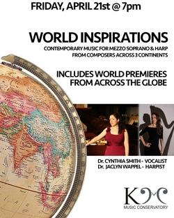 World Inspirations - Voice & Harp